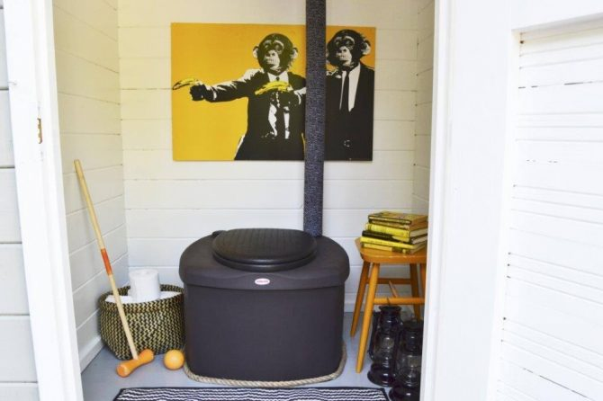 Composting Toilet Biolan Eco