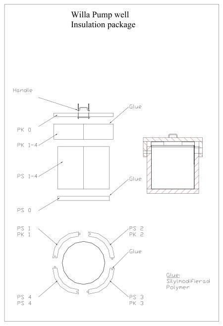 Pump Well Insulation dwg