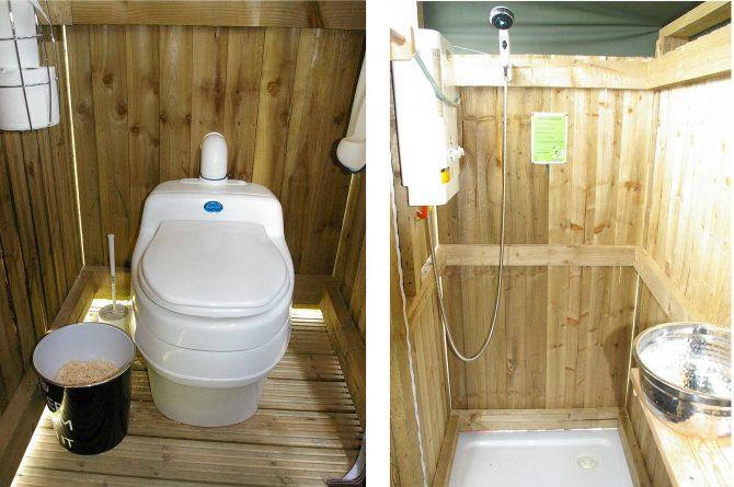 Compost Toilet. Separett Villa 9010